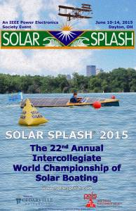 Solar Splash Poster 2015
