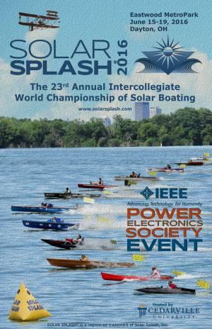 Solar Splash Poster 2016
