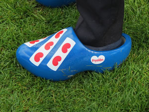 Wooden shoes from Friesland