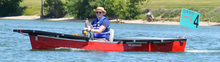 University of Dayton boat