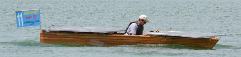 Geneva College boat