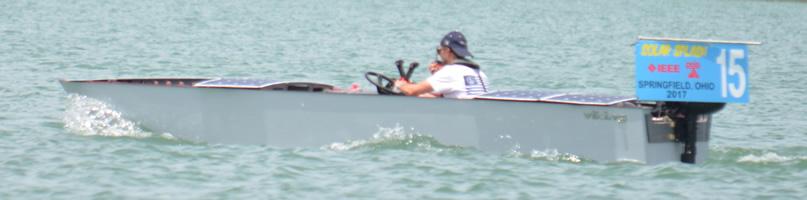 Stevens Institute boat