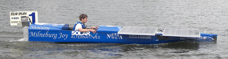 University of New Orleans boat